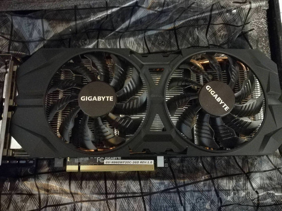 Placa De Video Gigabyte Gtx 960 2gb Solo La Placa Sin Caja