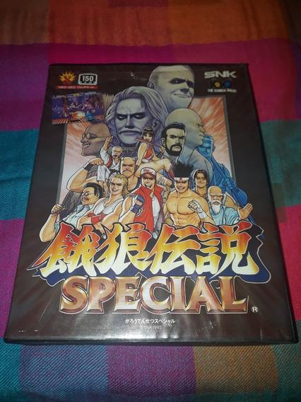Cartucho Fatal Fury Special Original Completo Neo Geo Aes