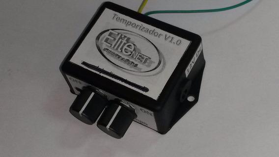 Rele Temporizado 0 A 5 Minutos Acionamento Motor Led Timer