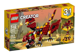 Lego Creator 3en1 31073 Criaturas Miticas Mundo Manias