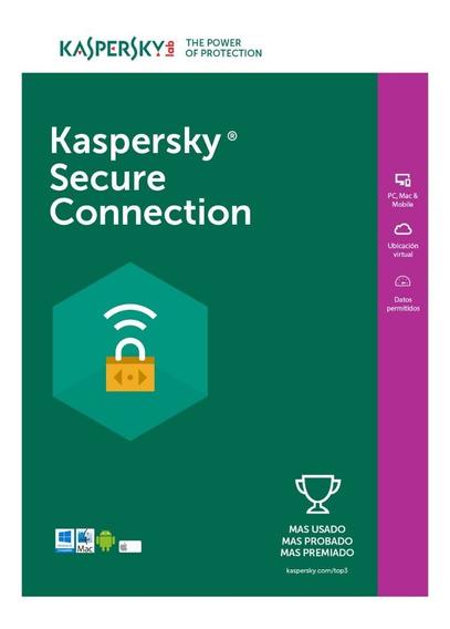 Licencia Kaspersky Secure Connection 1 Usuario 5 Dispo 1 Año