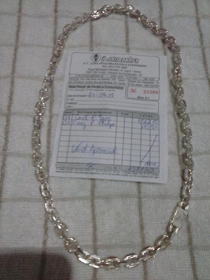 Cordao De Prata 95 Com Nota Fiscal