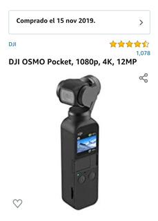 Dji Osmo Pocket Con Accesorios Y Micro Sd