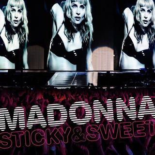 Cd -dvd Madonna Sticky & Sweet Tour