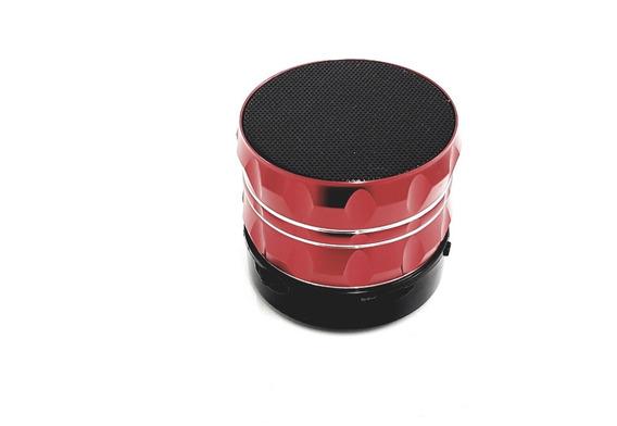 Mini Caixa De Som Portátil Bluetooth S13 Cor Vermelho