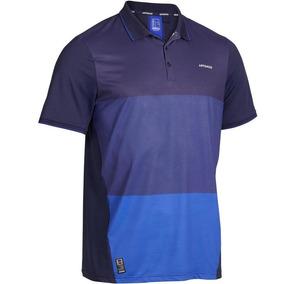 Playera Polo De Tenis Para Hombro Dry Azul 8506393 2