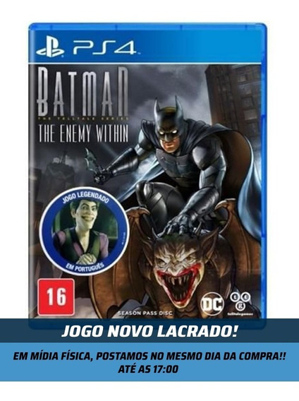 Batman The Enemy Within Ps4 Mídia Física