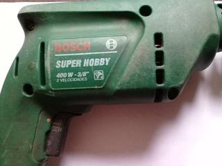 Taladro 10mm Bosch Super Hobby Con Percutor
