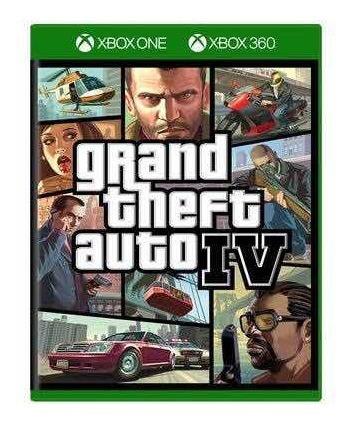 Gta Iv Xbox One Mídia Digital