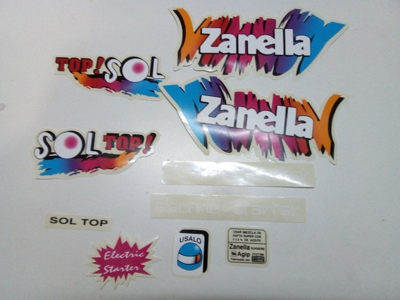 Calcos Zanella Sol Top
