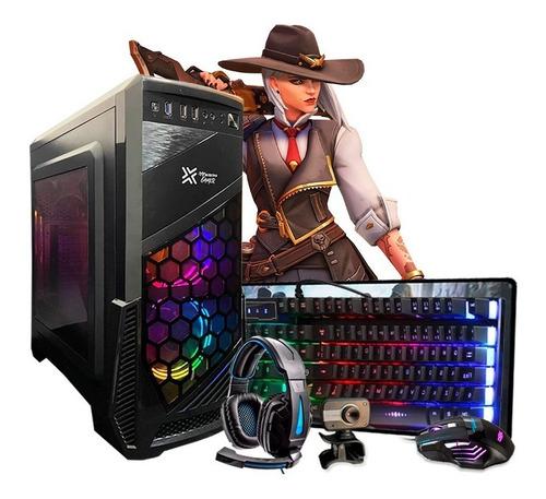 Pc Gamer Hector I3 4°geração Gtx 1050 8gb Hd 500gb Wi-fi