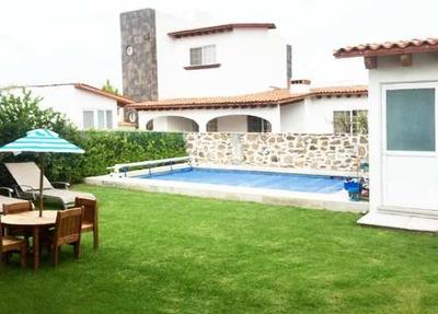 Casa Amueblada Y Equipada En Haciendas De Tequisquiapan