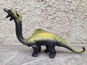 Juguete Dinosaurio Grande De Tres 3 Cabezas Para Niños