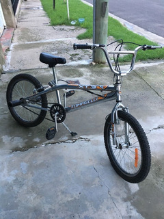 Bicicleta Bmx Tomaselli Xt3 Cromada R20 - Impecable/poco Uso
