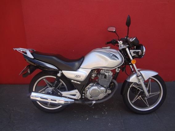 Suzuki Yes 125 Se 2011 Prata