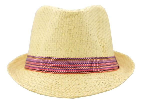 Sombrero Casual Color Negro Unisex 6-10 Años S284