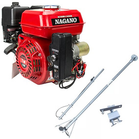 Motor A Gasolina 7 Hp Partida Elétrica + Rabeta Curta