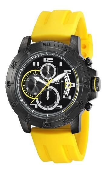 Relógio Masculino Speedo Preto Cronógrafo 24870gpevpi1 + Nf
