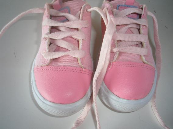 Tenis Bibi Rosa Infantil Fisioflex Tamanho 26