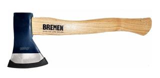 Hacha Bremen® 7063 Acero Forjado Con Cabo De Madera 600 Gr