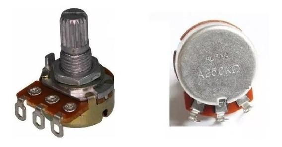Potenciômetro Alpha A250k Ou B250k - Guitarra Baixo Violão