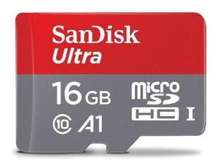 Cartão De Memória Sandisk Micro Sdhc 16 Gb