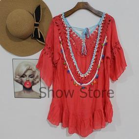 Roupas Femininas Saída Praia Mini Vest Importado China 2804