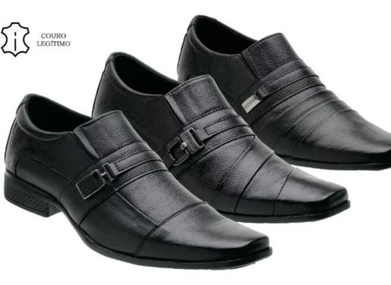 Sapato Couro Legítimo Masculinos 37,41,42,43