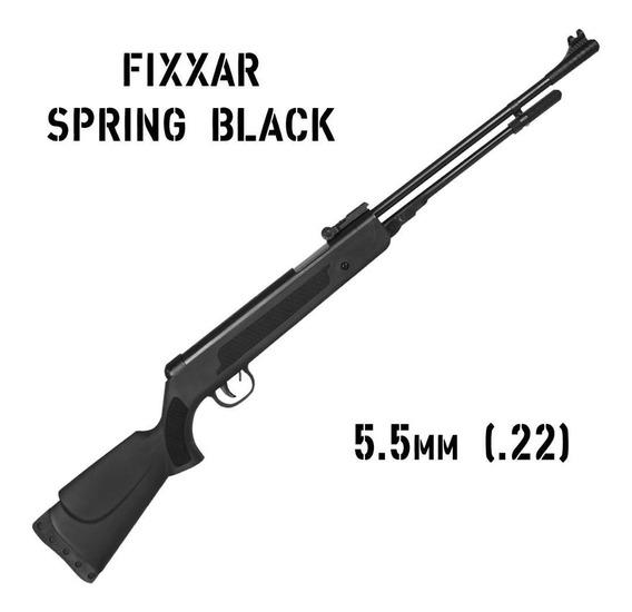Carabina Pressão Chumbinho Espingarda Fixxar Black 5.5mm