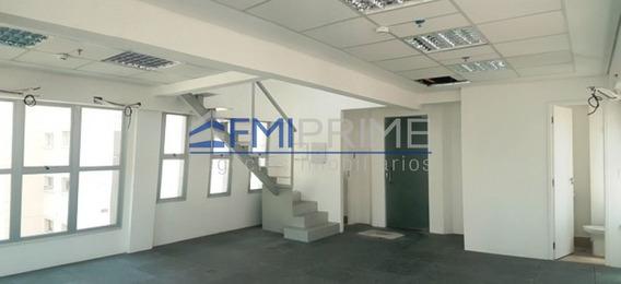 Perdizes - Sala Comercial Duplex - Nova - 120m² - 4 Vagas!!! - Fm187494