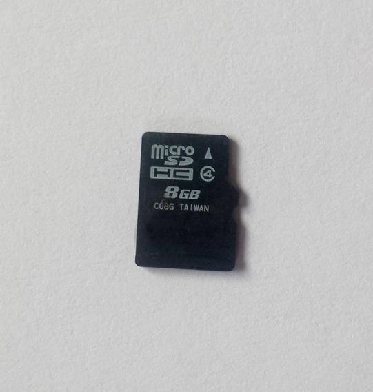 Cartão De Memória Micro Sd 8gb