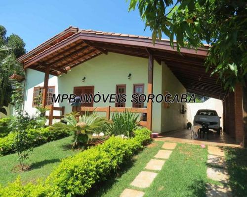 Casa Para Venda Em Araçoiaba Da Serra - Ch00004 - 34469195
