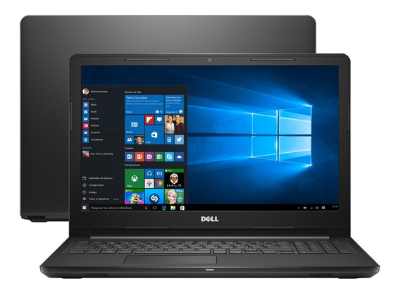 Notebook Dell Intel Core I7 8gb 2tb 15,6 Win 10 Nfe