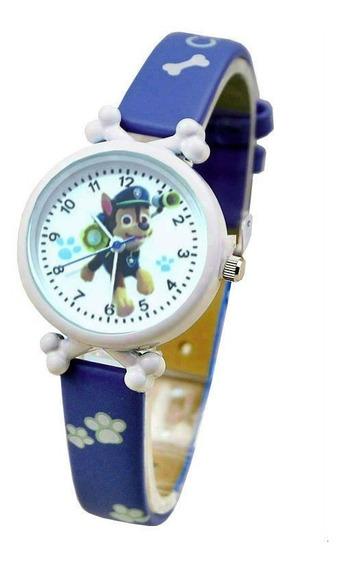 Relógio De Pulso Patrulha Canina Menino Criança Infantil 128