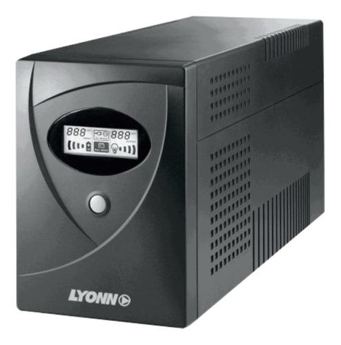 UPS Lyonn Desire CTB CTB-500 500VA entrada de 220V/230V/240V CA y salida de 220V CA negro
