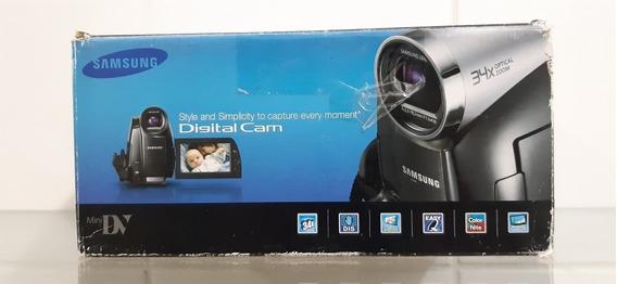 Filmadora Minidv Samsung - Serve Pra Fazer Live Via Firewire