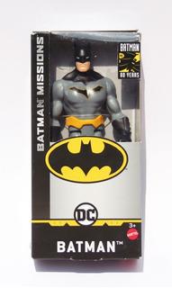 Batman Missions - Batman - 15cm Original Oferta!