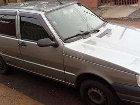 Fiat Uno Mille, Economy, 1.0, Flex Cinza.