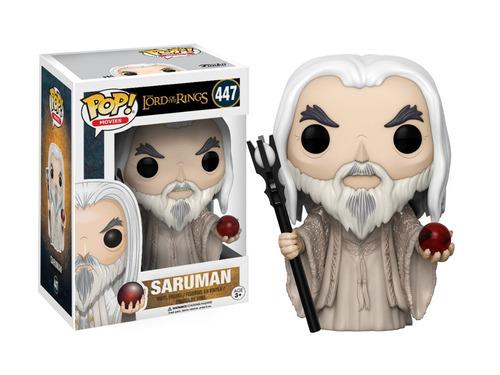 Funko Pop Saruman #447 Señor De Los Anillos Jugueterialeon