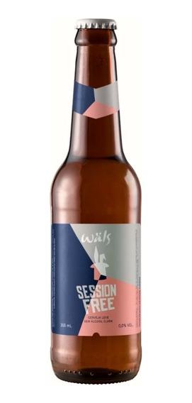 Cerveja Wals Session Free 355ml