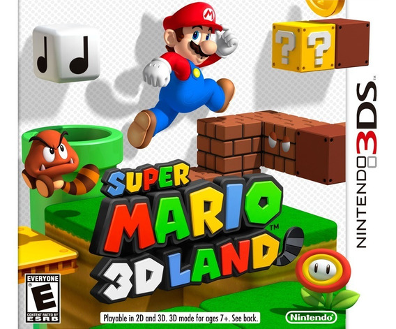 Super Mario 3d Land - 3ds ! Semi Novo! M. Física!