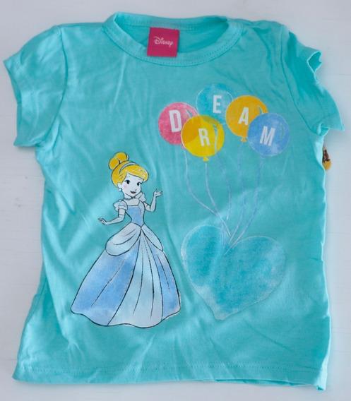 Playera Princesas Disney Para Niña