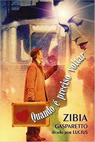 Livro Zibia Gaspareto Quando E Preciso Voltar - 1ªed.(2001)