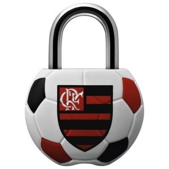 Cadeado Licenciado Flamengo Cr25, Original Papaiz
