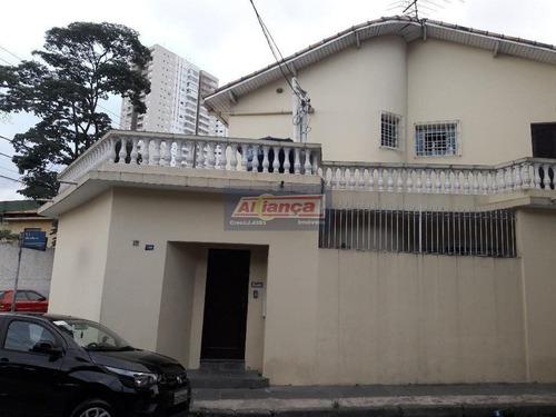 Sobrado Residencial À Venda, Vila Augusta, Guarulhos. So0529 - Ai2465