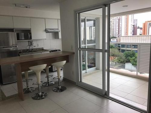 Apartamento Para Alugar, 60 M² Por R$ 5.000,00/mês - Brooklin - São Paulo/sp - Ap1401
