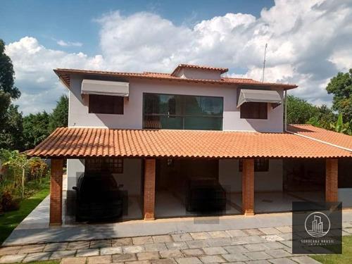 Chácara Com 4 Dormitórios À Venda, 1080 M² Por R$ 650.000,00 - Residencial Alvorada - Araçoiaba Da Serra/sp - Ch0016