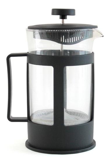 Cafetera Francesa Vidrio Prensa Con Embolo 600ml Plastico