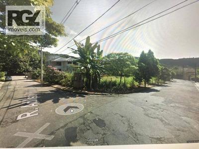Terreno À Venda, 920 M² Por R$ 1.000.000 - Morro De Nova Cintra - Santos/sp - Te0092