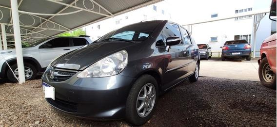 Honda Fit Ex 2007 1.5 Automatico Cvt E Bancos De Couro